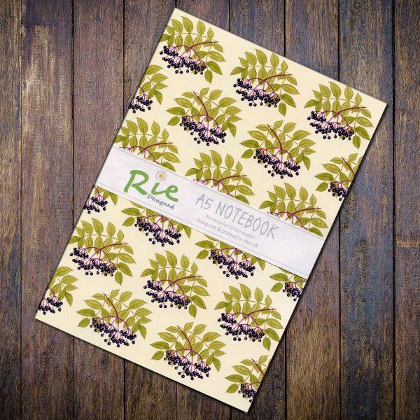 Elderberry-a5-notebook