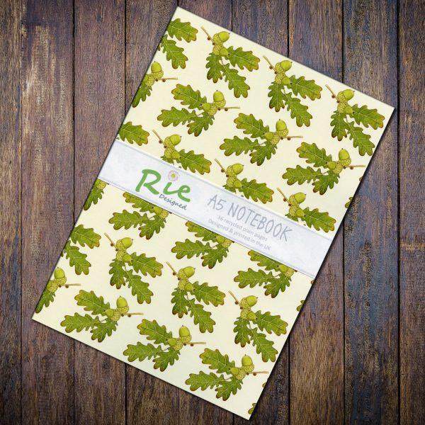 Oak-A5-Notebook