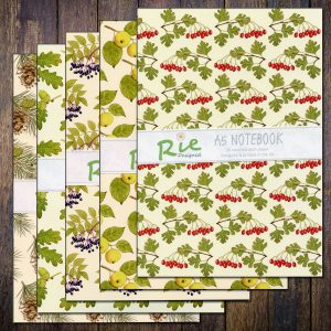 Tree-leaves-A5-notebook-set