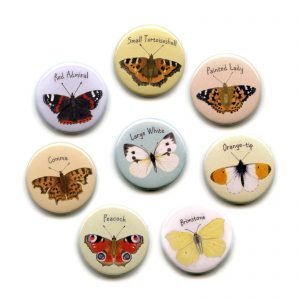 British Butterflies-magnets