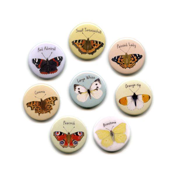 British Butterflies-magnets