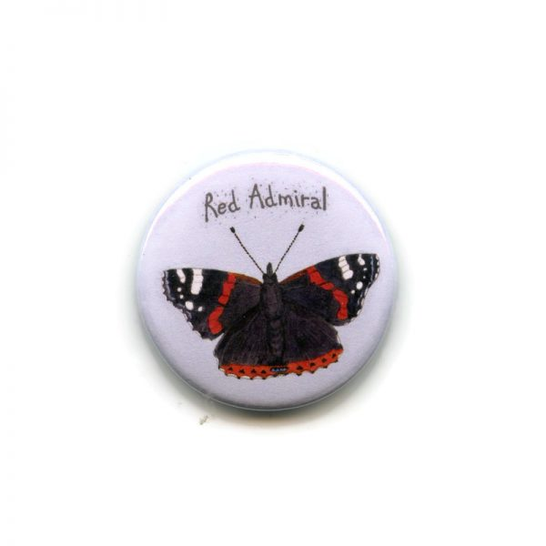 Red admiral magnet