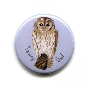 tawny owl magnet
