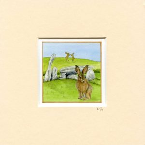 Brown-Hare-Cairnholy-mounted-miniprint
