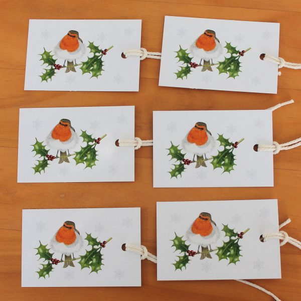 Robin-and-holly-gift-tags
