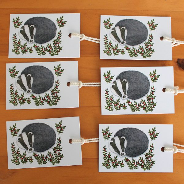 Snowy-badger-gift-tags