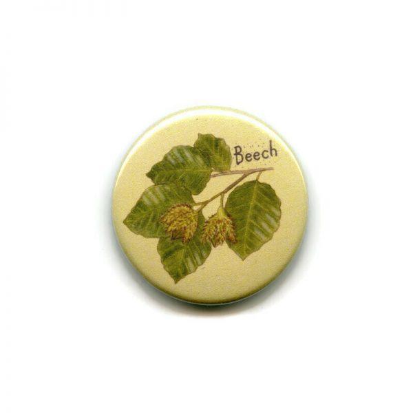 beech leaves magnet
