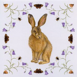 Hare-and-harebells-card
